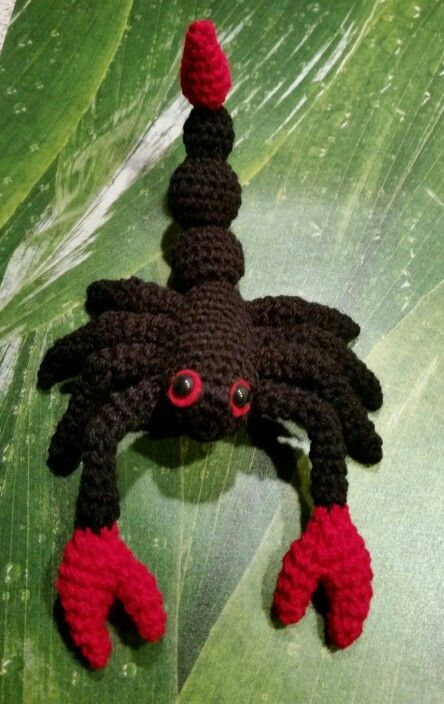 Skorpion Meine Amigurumis Pinterest Skorpion