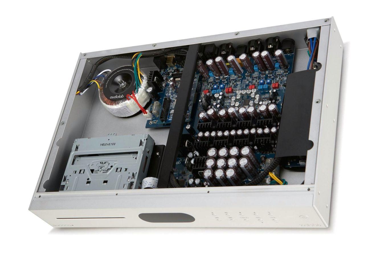 AUDIOPHILE MAN - HIFI NEWS: Audiolab 8300CD Audiolab has announced