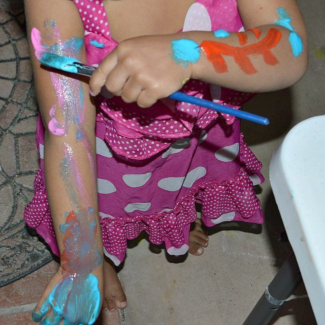 Homemade Baby Safe Face Paint