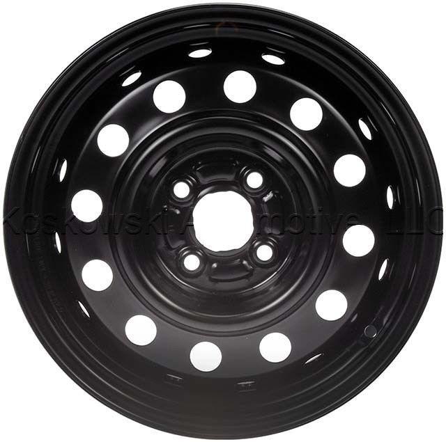 Saturn Ion 15 Inch Steel Wheel 9593549 Dorman 939 125 2004 2005 2006 2007 Steel Wheels Wheel Dorman