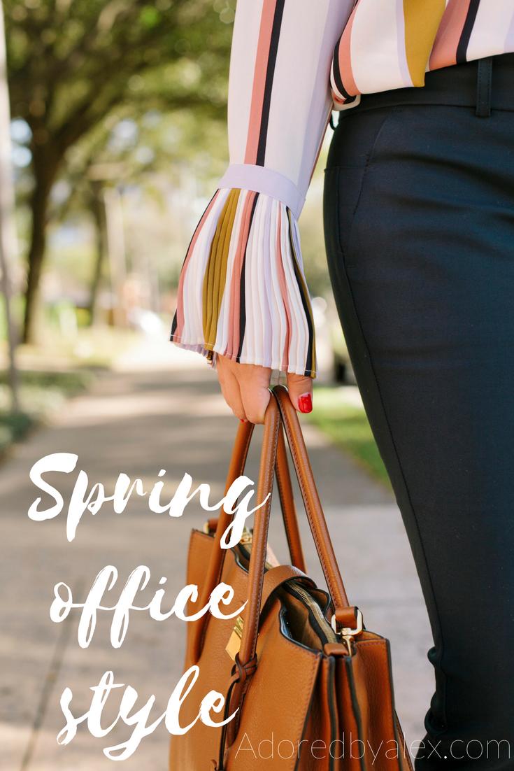 Updating work wardrobe for spring