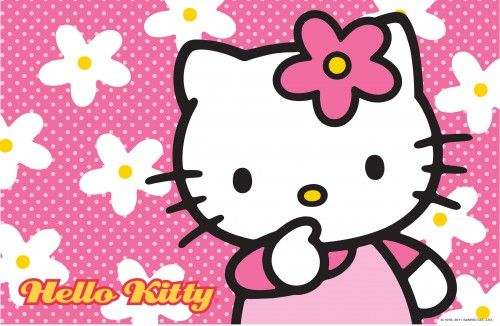 Hello Kitty Wallpaper With Floral Pink Background Hd Wallpapers For Free Hello Kitty Wallpaper Hd Hello Kitty Backgrounds Hello Kitty Wallpaper