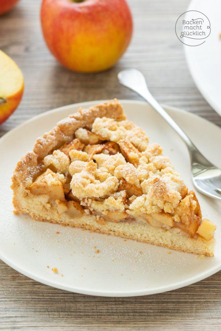 Leckerer Apfel-Streusel-Kuchen   Backen macht glücklich