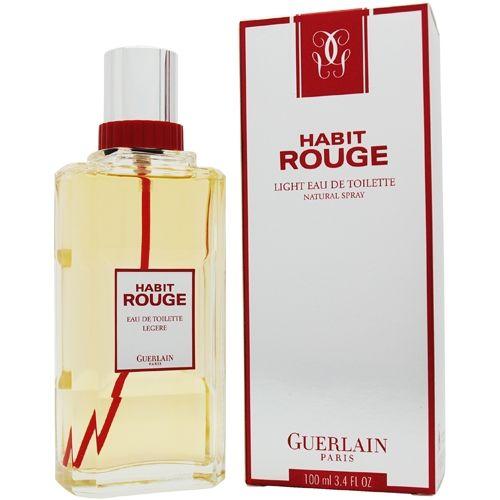Habit Rouge Eau Legere By Guerlain Perfume Bottles Parfume Perfume