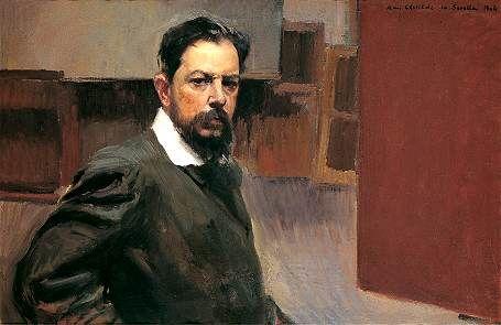 Joaquin Sorolla Self Portrait 1904 Portrait Painting Portrait Portrait Artist