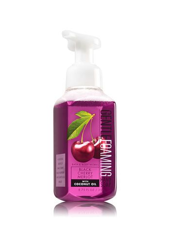 Black Cherry Merlot Gentle Foaming Hand Soap Bath And Body Works