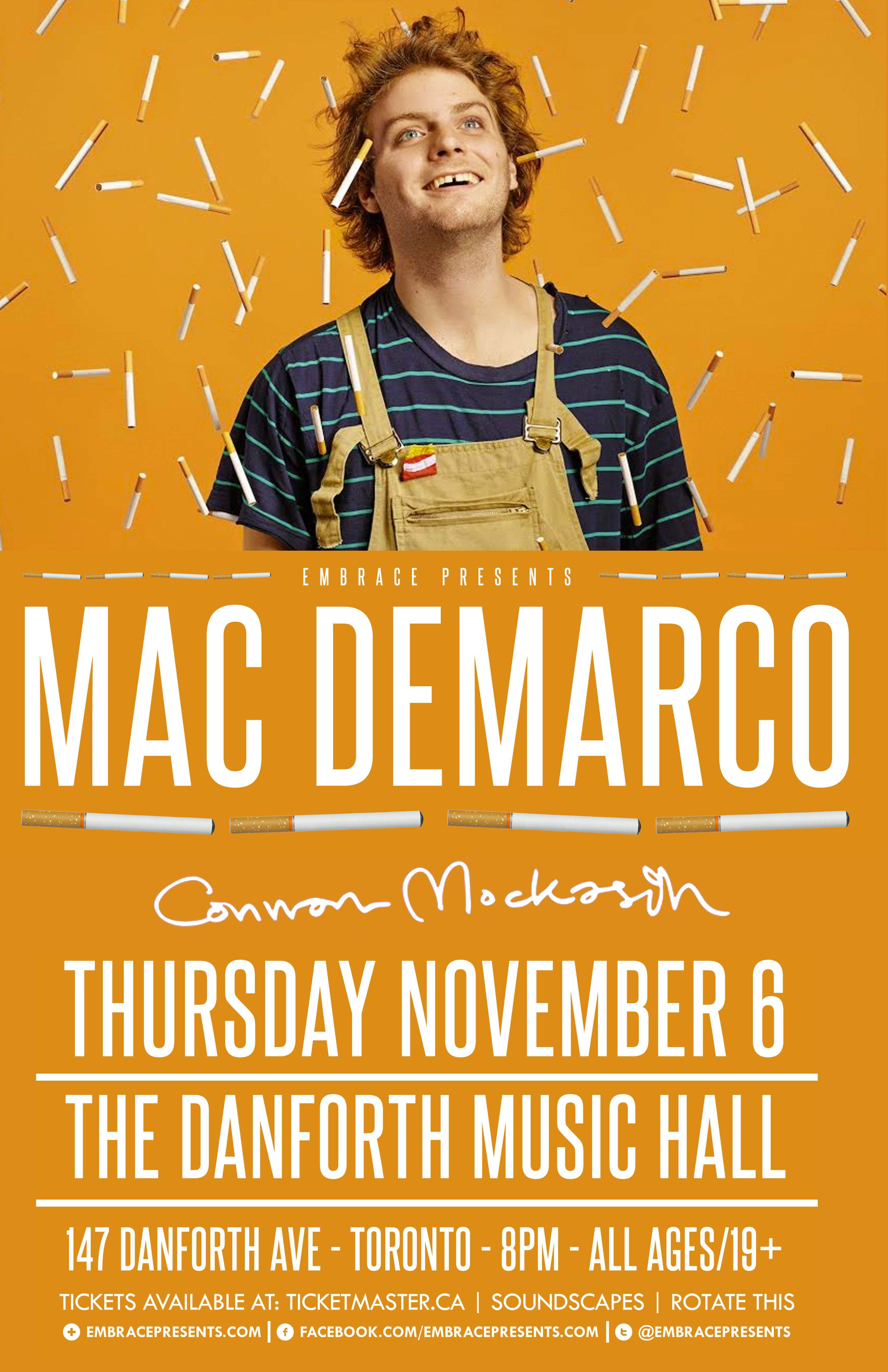 Poster design for mac - Mac Demarco Poster