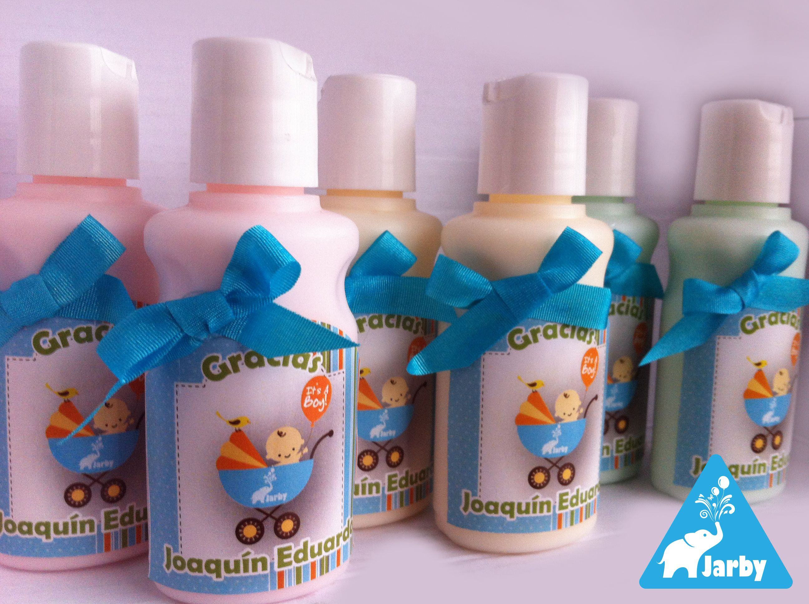 Recuerdo de Baby Shower Crema para manos Baby Shower ts