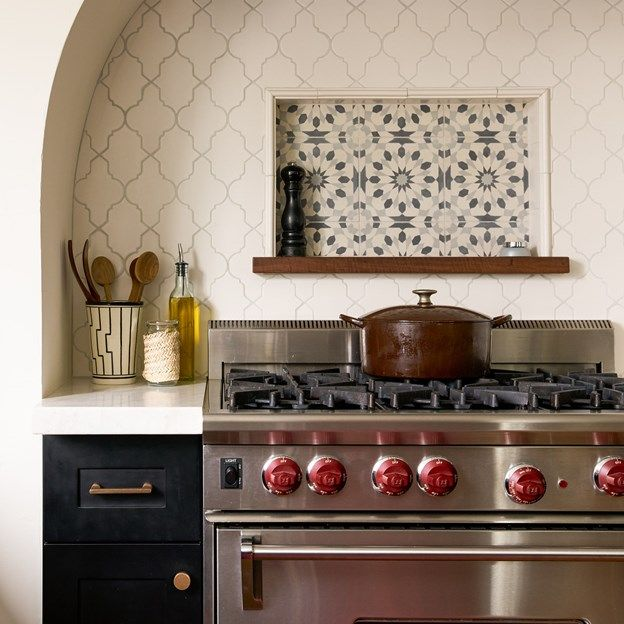 These Stove Backsplash Ideas Will Make You Want To Cook Every Day