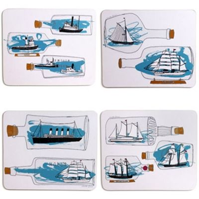ship ahoy placemats > cookware SALE > Kitchen Shop SALE > CLEARANCE > New House > New House Textiles