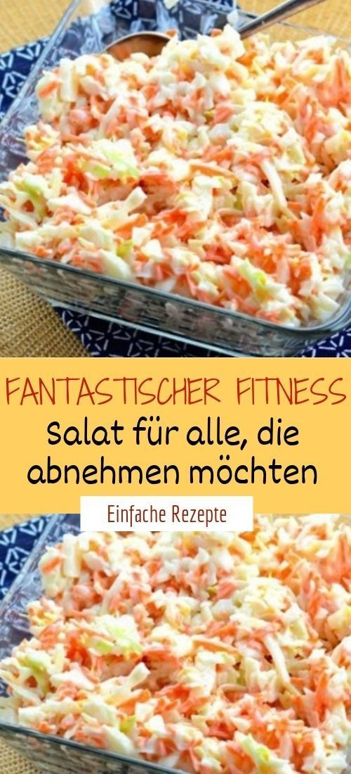 Fantastic fitness salad for those who want to lose weight   - Einfache Rezepte ❤️ - #einfache #fanta...