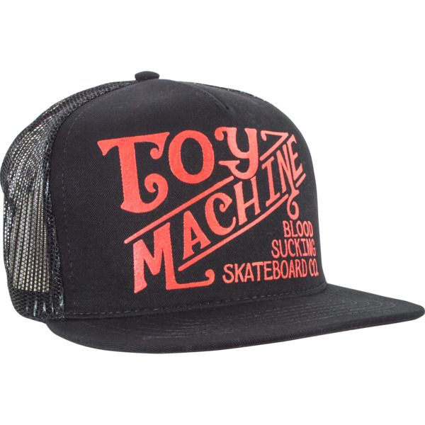 Toy Machine Skateboards Joe s Style Black Mesh Trucker Hat - new at  Warehouse Skateboards!  newarrivals  skateboards 759ddde1646