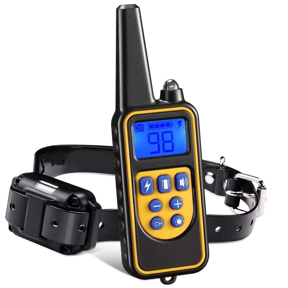 Iduola Dog Training Collar 860 Yards Small Medium Large Pet