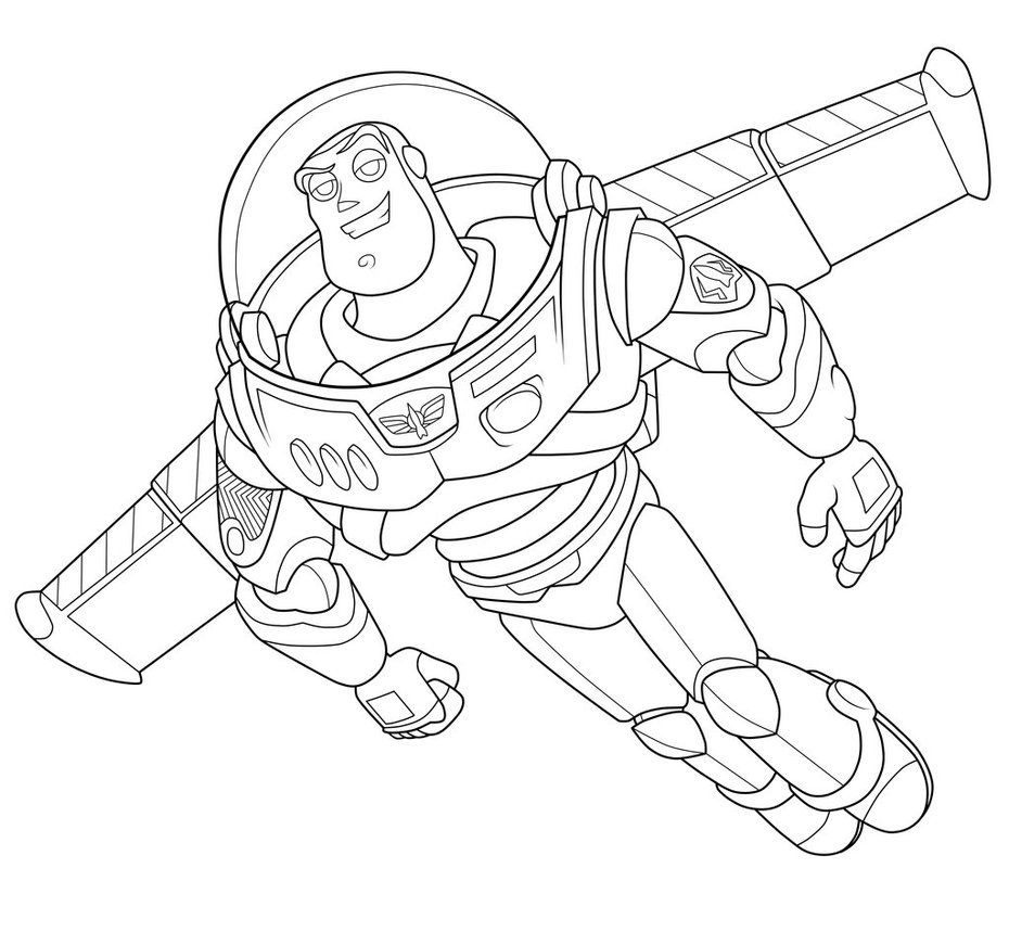 COLORING PAGES: Toy Story Para