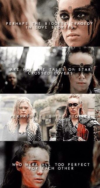 lik if u cri evry tyme | The 100 in 2019 | The 100 cast, The
