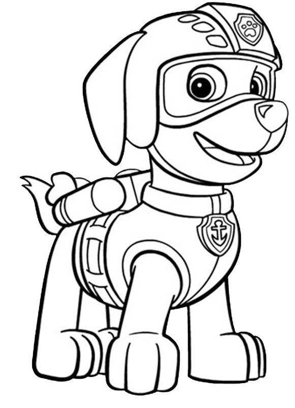 coloringpagesfortoddlers  paw patrol is a canadian