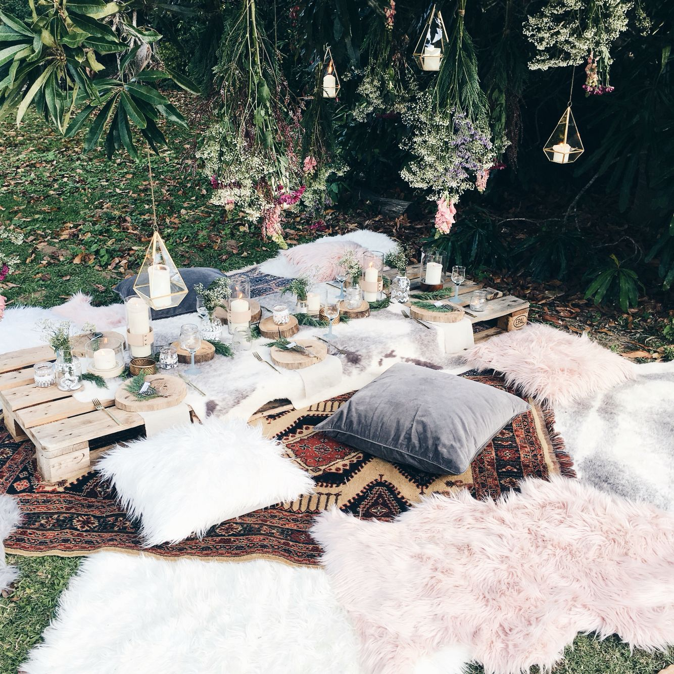 Bohemian Wedding Reception: Beautiful Bohemian Brunch We Styled On The Weekend