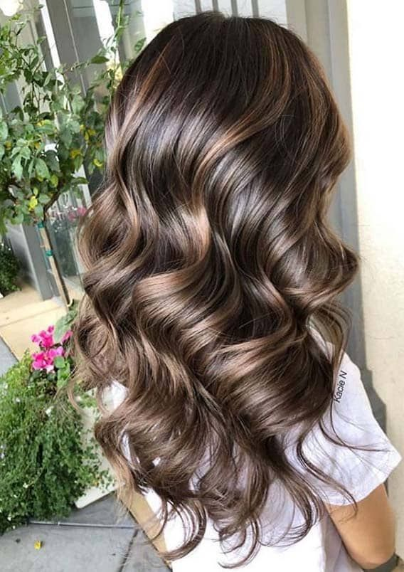 Fresh Chocolate Brown Hair Color Shades For Women In 2020 Fashionsfield Brunette Hair Color Hair Color Light Brown Bleached Hair