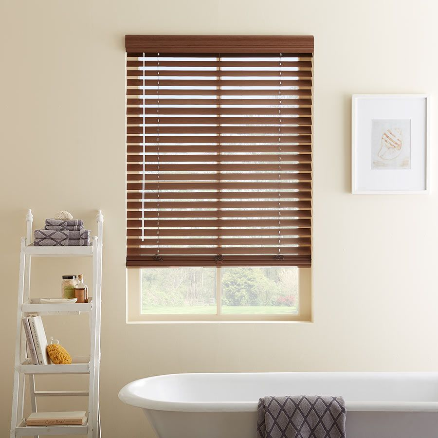 2 Designer Faux Wood Blinds Wood Blinds Faux Wood Blinds Shabby Chic Curtains