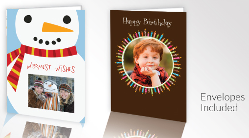 5 FREE 4x8 Photo Greeting Cards At Rite Aid