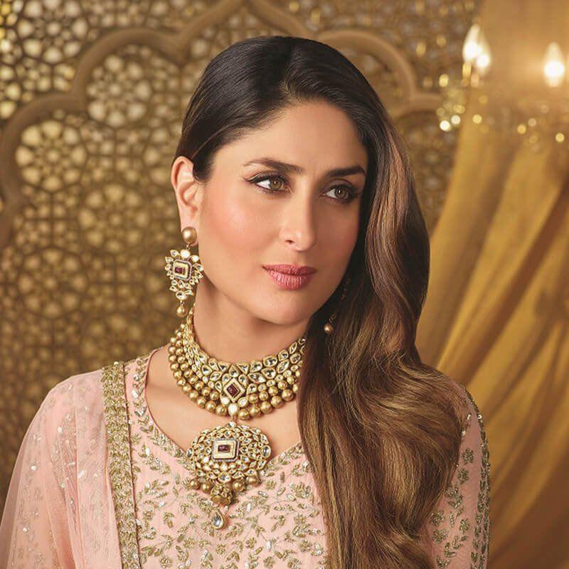 Beautiful Kareena Kapoor #Kareena #Kareenakapoor #Kareenakapoorkhan  #bollywood #celebrity #bollywoo… | Celebrity necklace, Indian wedding  jewelry, Bollywood jewelry