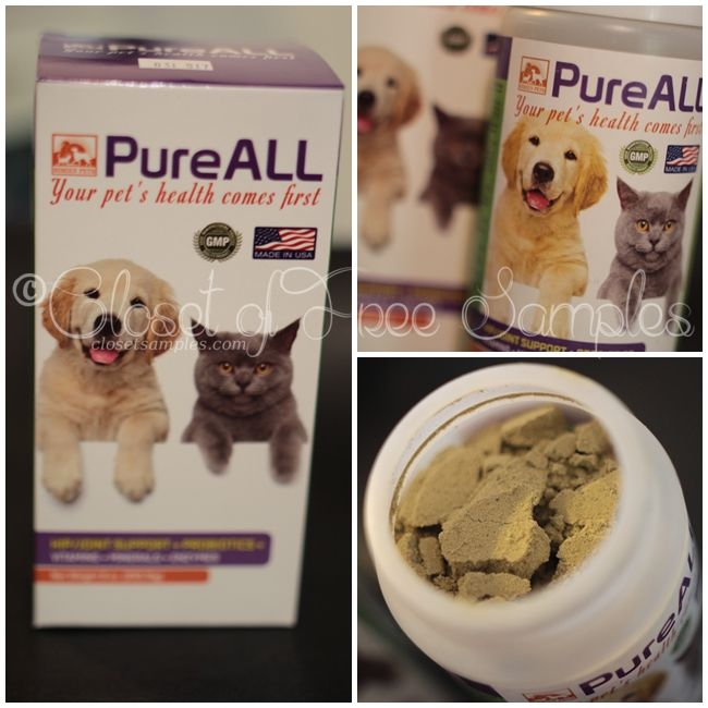 Giveaway Simien Pets Pureall Supplement Review Get Free Samples By Mail Free Stuff Pets Food Animals Your Pet