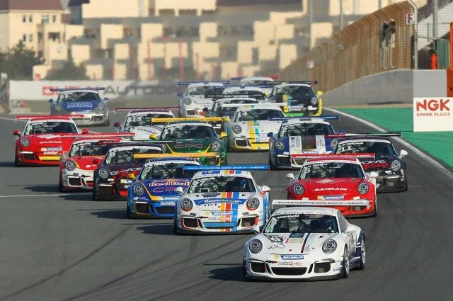 3. Porsche GT3 Cup ME makes a return to Autodroome in January