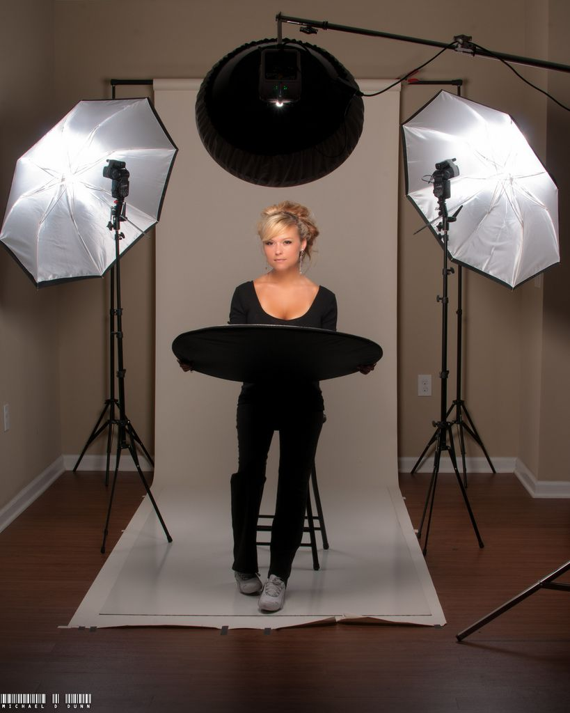 3 point lighting set up | by Michael D. Dunn  sc 1 st  Pinterest & 3 point lighting set up | Point light Lights and Photography azcodes.com