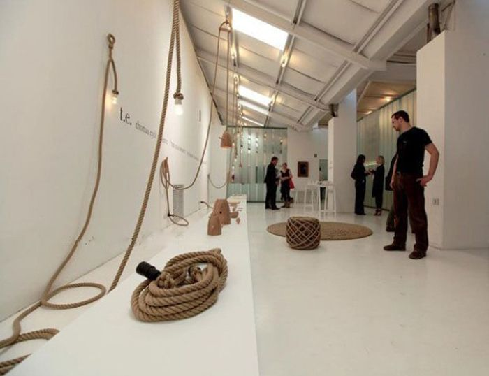 Koop vintage touw hanger licht industri le edison lamp snoer amerikaanse stijl 2 - Licht industriele vintage ...