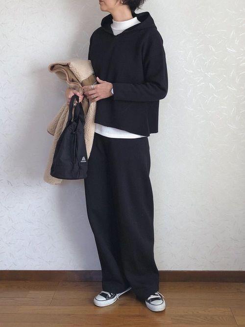 Photo of 【2020春】ワイドパンツ×スニーカーで垢抜けコーデ♡40代女性の着こなし24選 | folk
