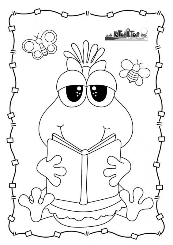 Retonitos Revista Para Educadores Y Padres Libro De Colores Dibujos Dibujos Para Caratulas