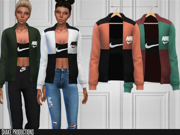ShakeProductions 193 - Top | UNTESTED CC | Sims 4, Sims