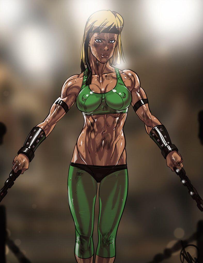 Sonya Blade Sfw By Ganassa On Deviantart Com Imagens Look