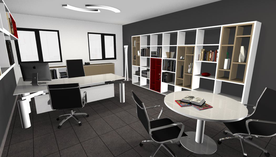 Chitarpi Mobili Per Ufficio Roma.Executive Office Idea Modern Interior Design Restyling