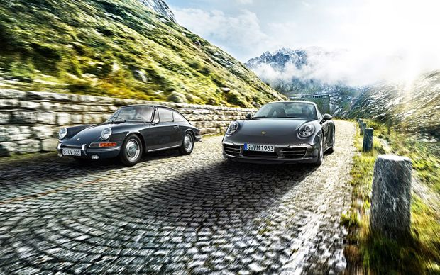 50 Years of the Porsche 911 – The 911 50 Anniversary Edition