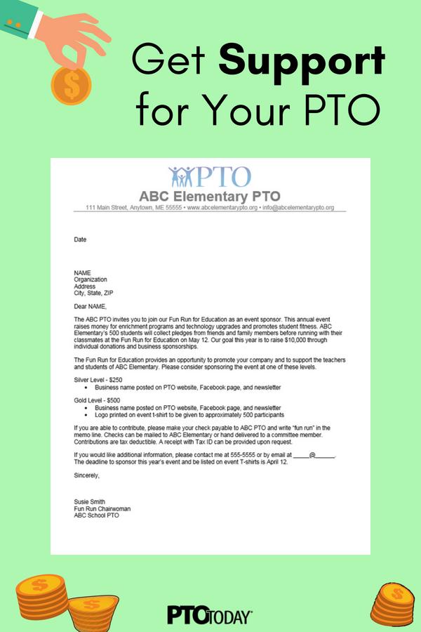 Sponsor Request Letter Donation letter, Fundraising