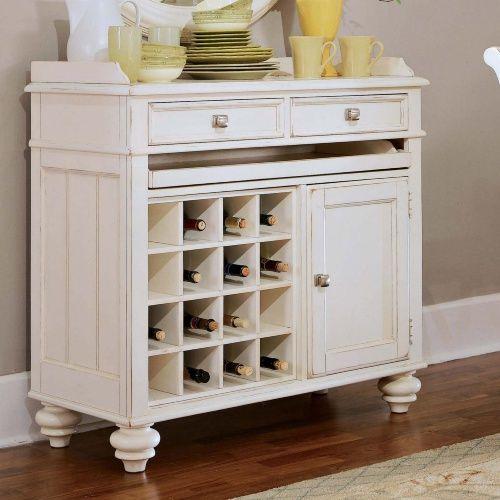 Antique White Wine Cabinet | Bar Cabinet