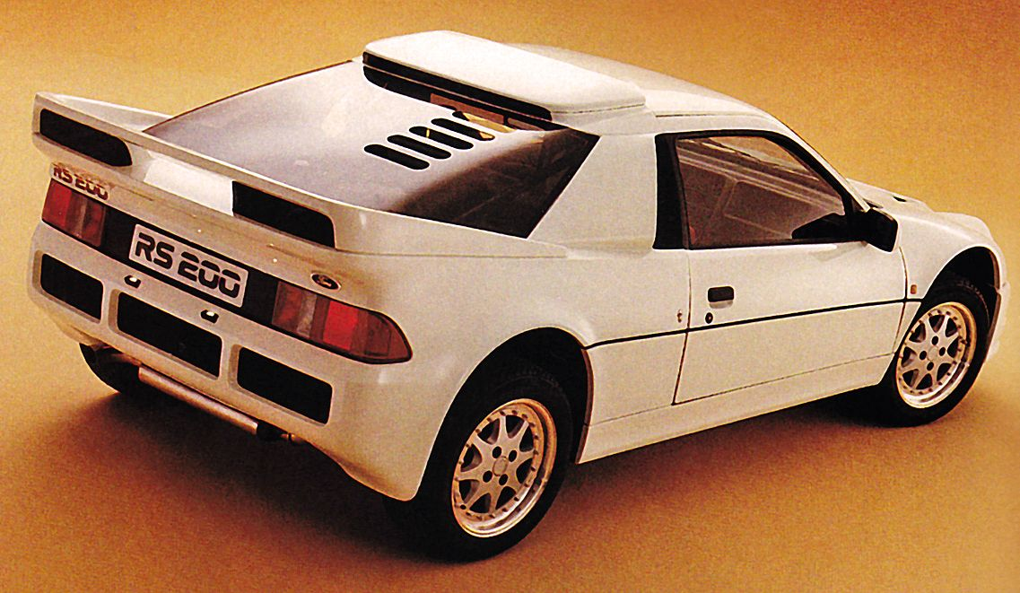 Ford Rs200 1984 86 Ford Cars Rally Racing
