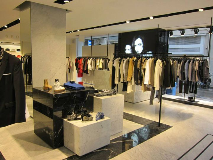 The Kooples The Kooples Sport Boutique In Cannes Pret A Porter