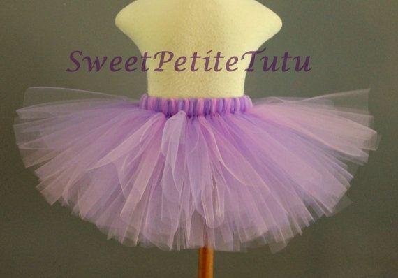 Lavender and Lilac Tutu Light Purple Tutu by SweetPetiteTutu