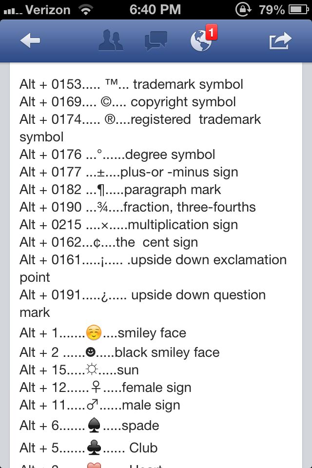 Keyboard Symbols Tech Tips Pinterest Hacks Life Hacks And