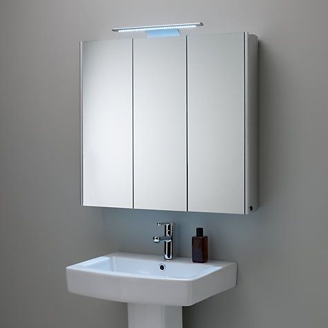 Roper Rhodes Absolute Triple Mirrored Illuminated Bathroom Cabinet Illuminated Bathroom Cabinets Bathroom Mirror Cabinet Bathroom Cabinets With Lights
