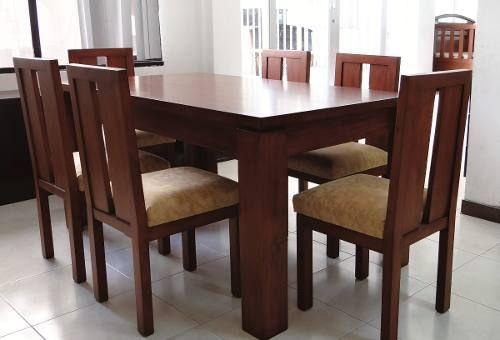 Muebles de comedor dise os de casa en 2019 mesas y - Disenos de comedores de madera ...