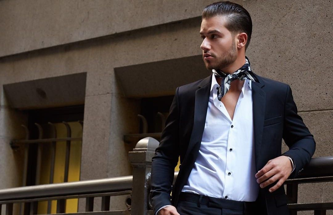 Image result for images of man in bandana at waist high quality article on how to wear a bandana