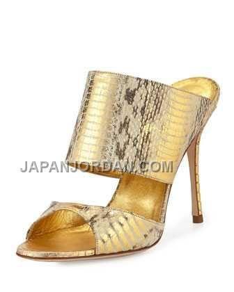 http://www.japanjordan.com/manolo-blahnik-ripta-snake-doubleband-mule-slide-gold.html 送料無料 MANOLO BLAHNIK RIPTA SNAKE DOUBLE-BAND MULE SLIDE ゴールド Only ¥22,998 , Free Shipping!