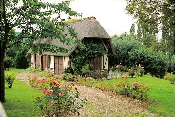 maison normande vu en normandie maison normande maison et normandie. Black Bedroom Furniture Sets. Home Design Ideas
