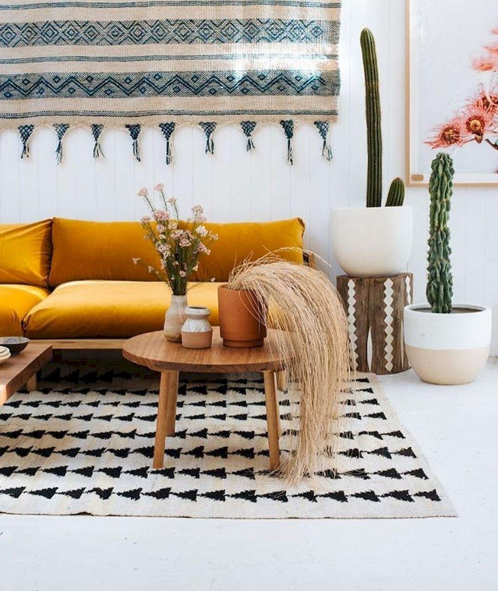 75 beautiful yellow sofa for living room decor ideas