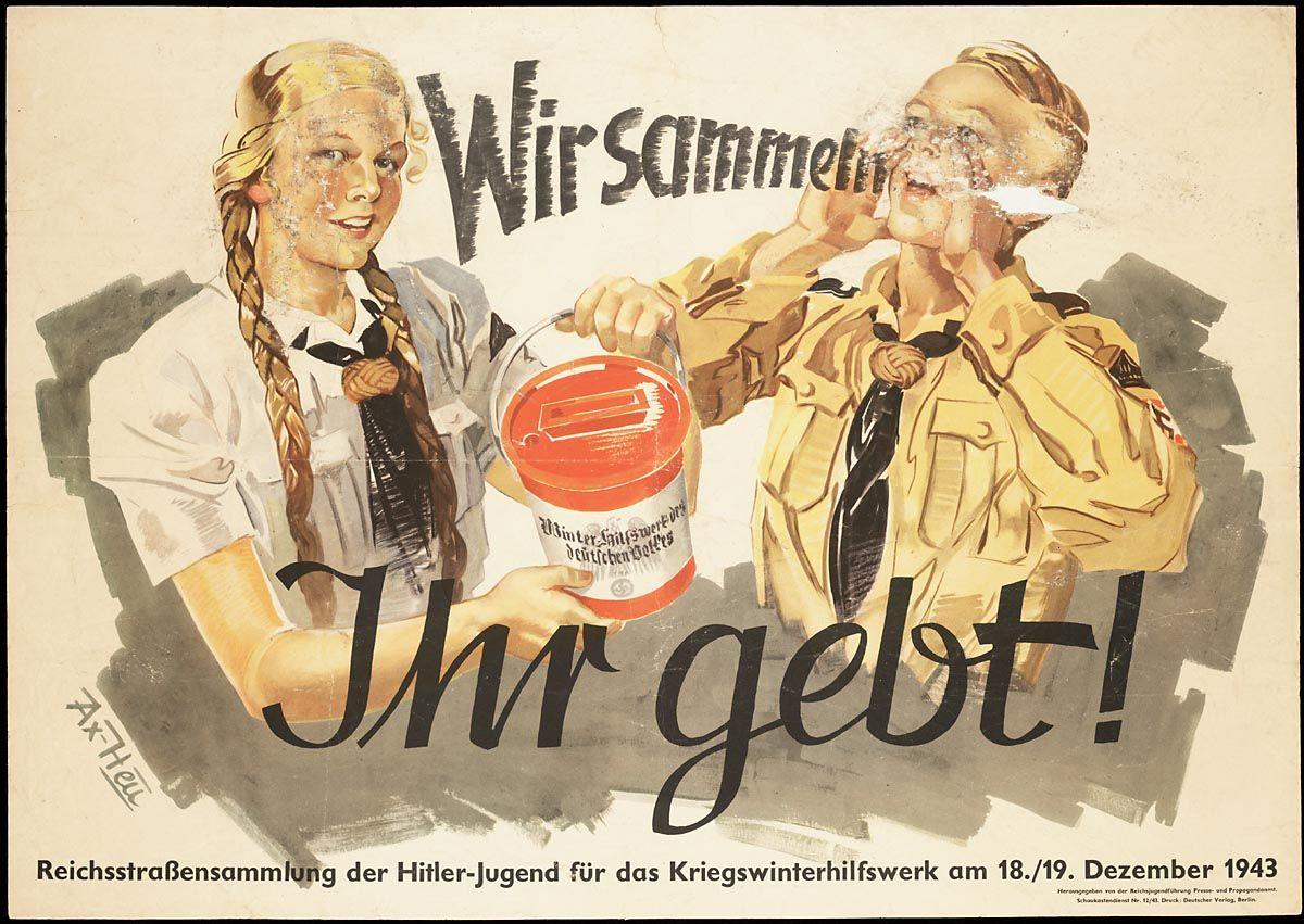 Title: Wir sammeln, Ihr gebt! Reichsstrassensammlung der ...