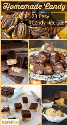 Photo of Homemade Candy: 23 Easy Candy Recipes