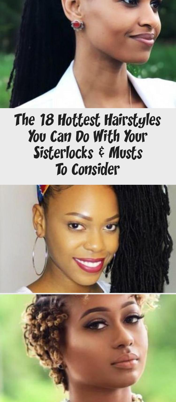 Sisterlocks Bob #sisterlocks #braids Sisterlocks are the most beautiful and comfortable natural ...